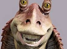 Everyone loves Jar Jar Binks